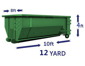 12 yard Container