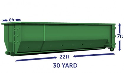30 yard Container